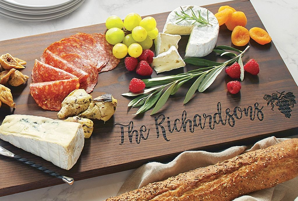 Personalized Ash Plank Serving Board