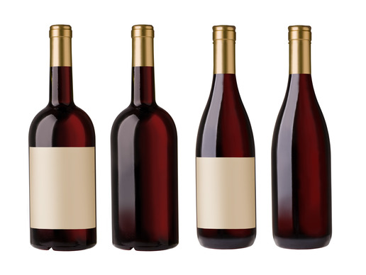 Photo of various sizes of wine bottles