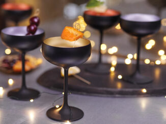 Black Champagne Coupes