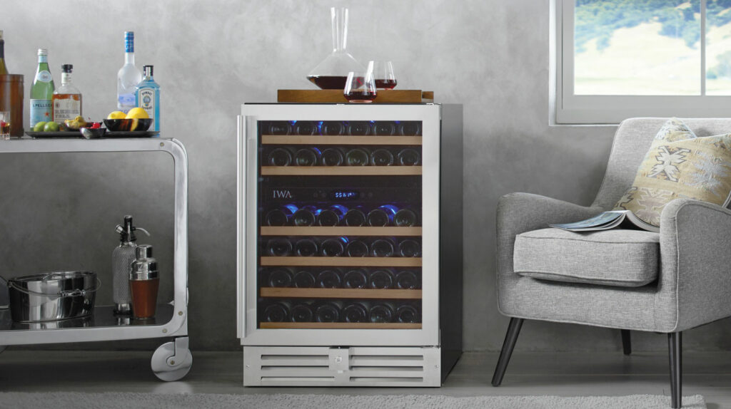 Loft Wine Coolers are one of the best options for small wine storage.