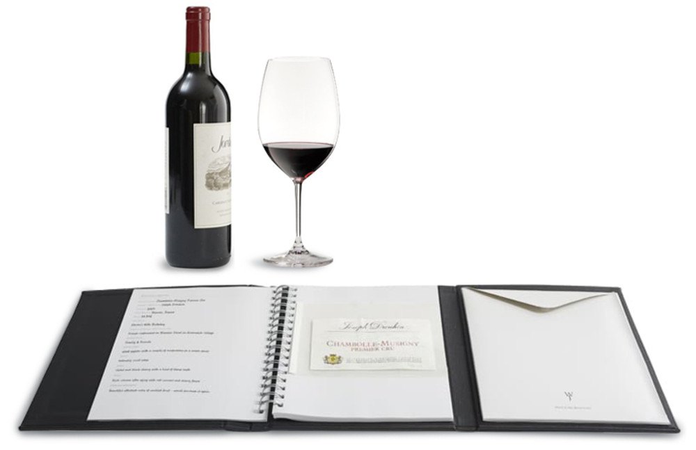Wine Journal with 10 LabelOffs