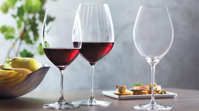Riedel Wine Glasses offer optimal tasting performance.