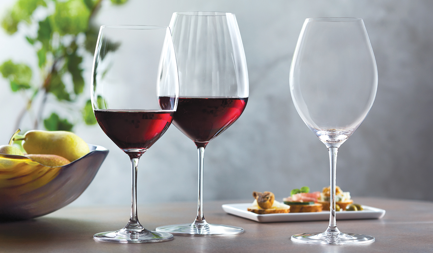 Riedel Wine Glasses offer optimal tasting performance.