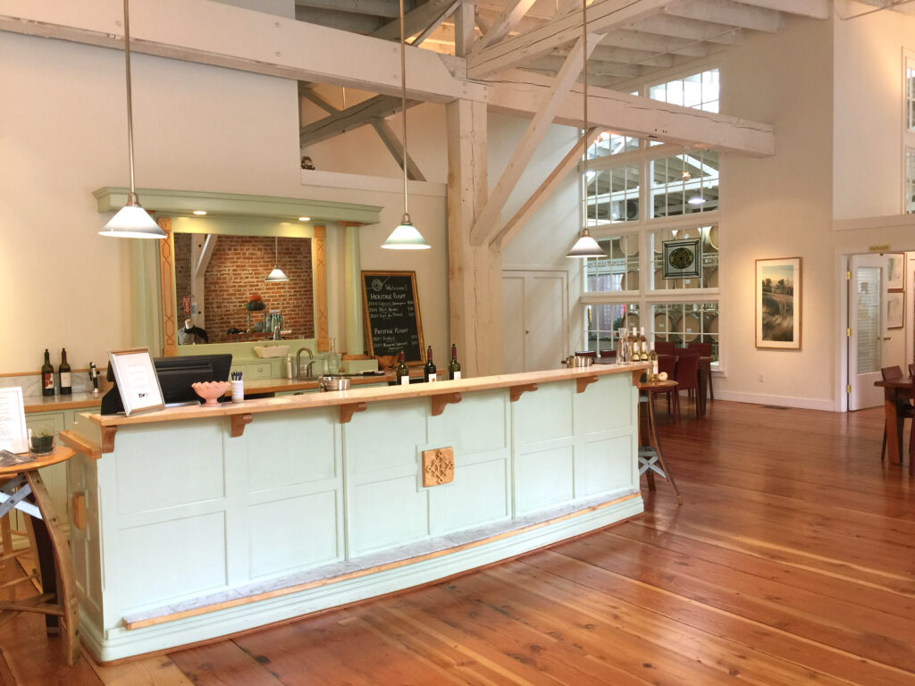 Seven Hills Winery tasting room