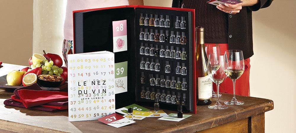 Le Nez du Vin Wine Aroma Essence Kit