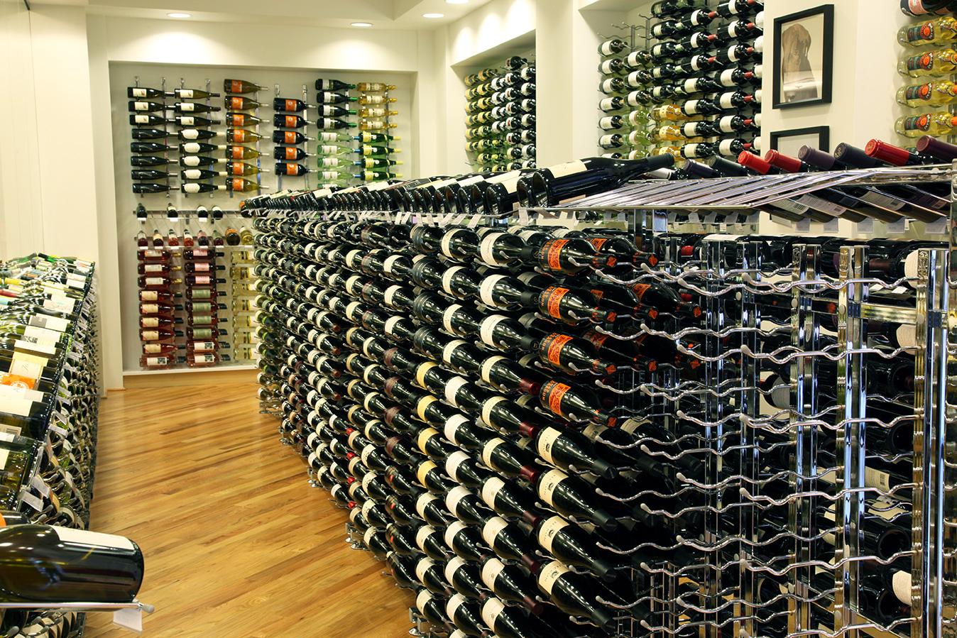 VintageView wine racks for commercial settings