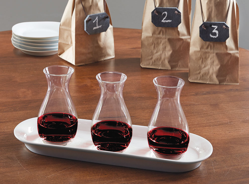 Wine Flight Tasting Set