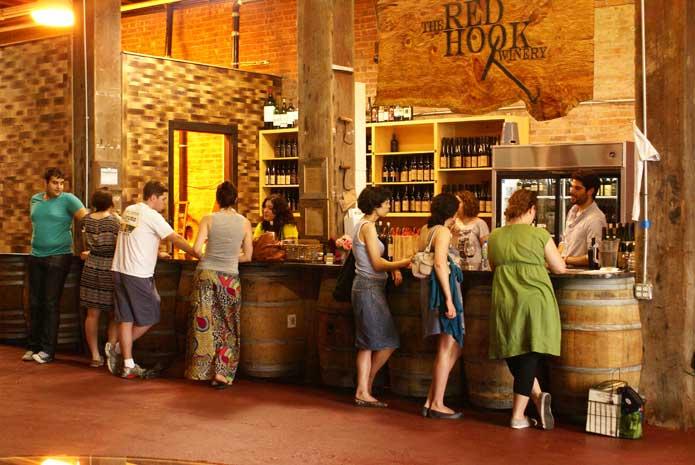 Red Hook Winery, Brooklyn Winery, Urban Winery
