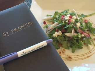 St Francis Winery Lunch Pairing
