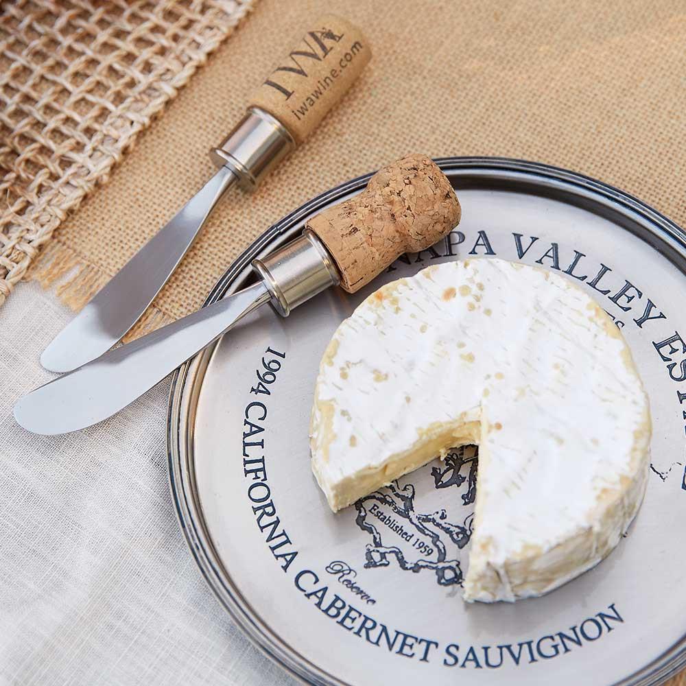 Cork Cheese Spreaders Wine Favors