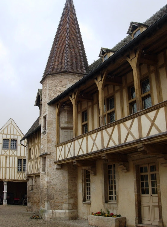 Traveling through Burgundy, France