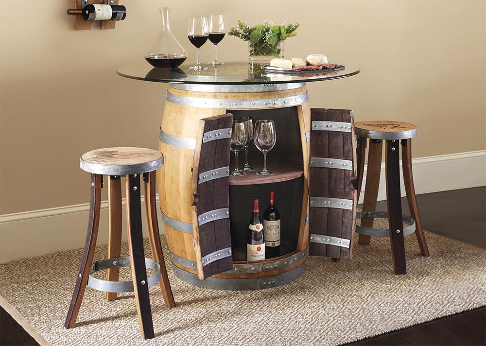 Barrel Pub Table Set