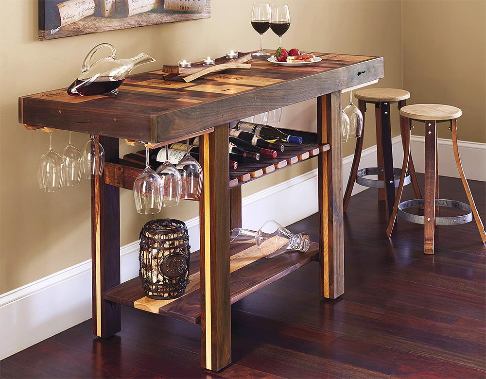 Wine Bar Console