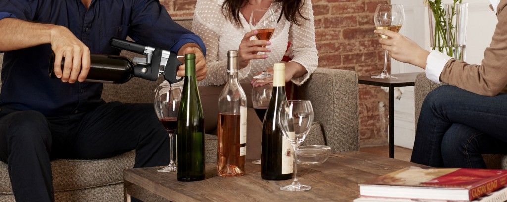 Coravin accesses and pours your wine directly from the bottle