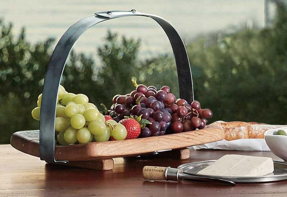Barrel Stave Gourmet Basket
