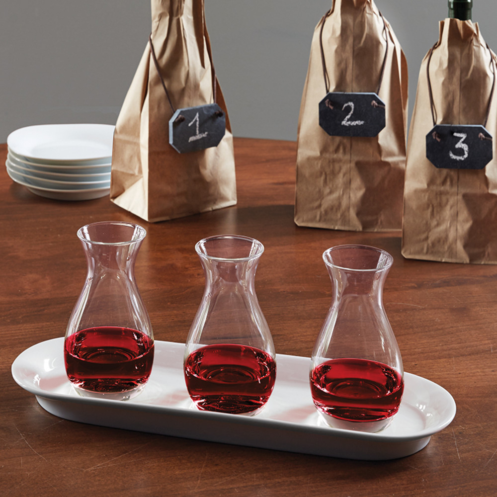 Blind Wine Tasting Flight Set