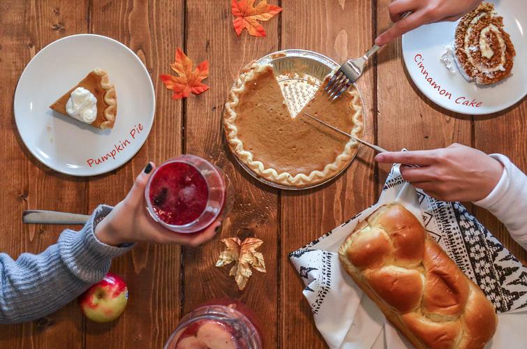 Wine Glass Writer Thanksgiving