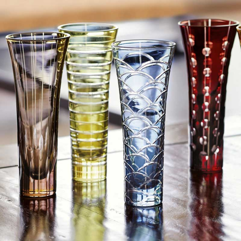 Colorful Fiesta Champagne Flutes