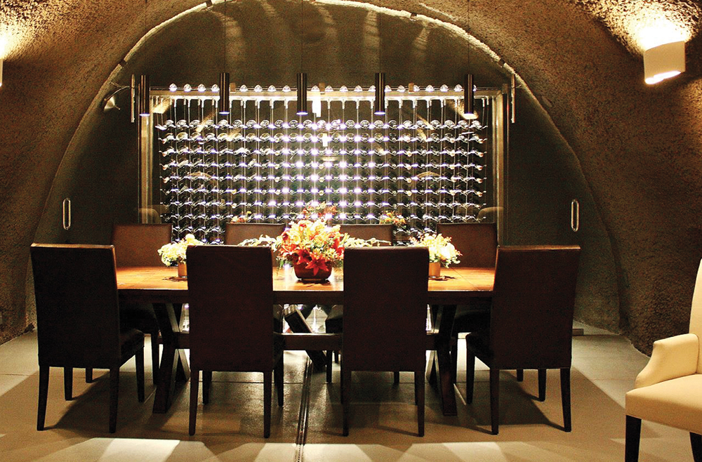IWA Design Center - Modern Wine Cave