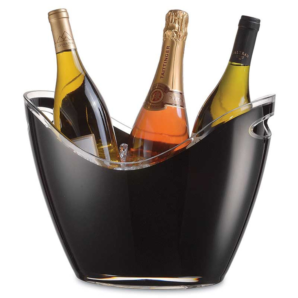 Vino Gondola Black Wine Cooler