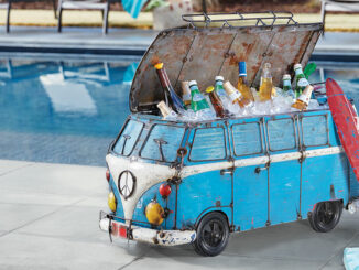 VW Bus Wine Cooler