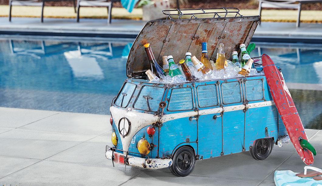 VW Bus Wine Cooler