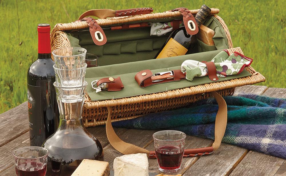 Wine & Cheese Basket