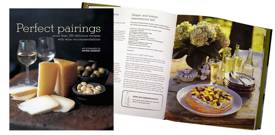 Perfect Pairings Recipe Book
