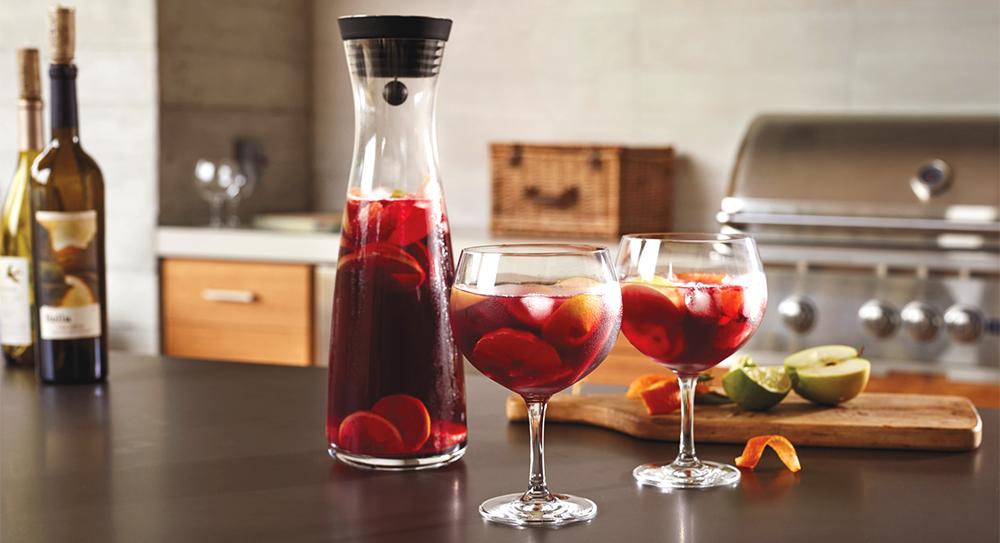 Sangria wine glasses
