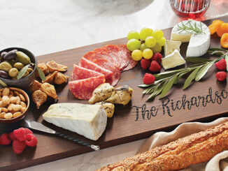 Personalized 36 Inch Ash Plank Serving Board #31340