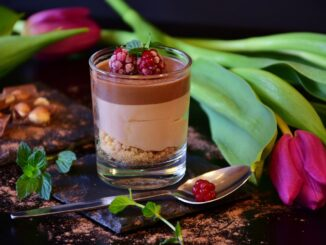 Chocolate Mousse and Wine