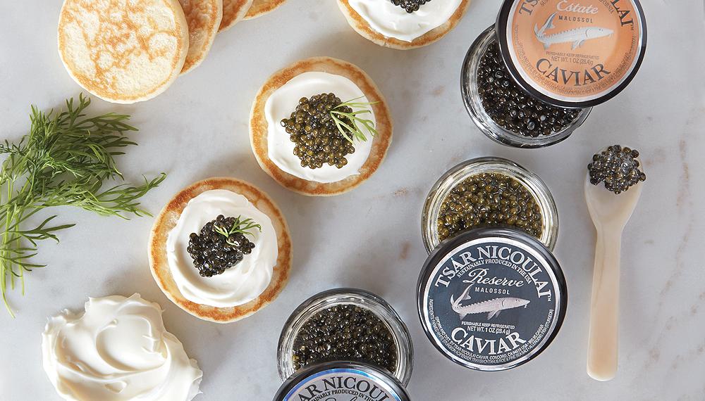Tsar Nicoulai Caviar