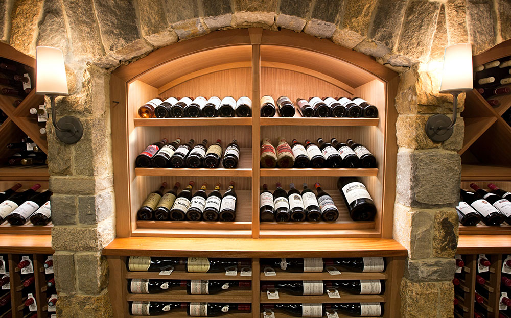 Create a custom wine cellar with IWA Design Center