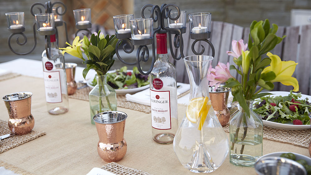 Spring Wine Entertaining