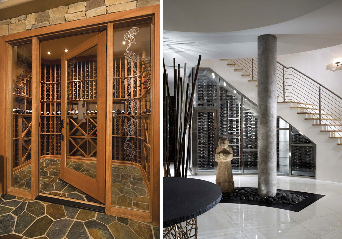 Custom Wine Cellar Floor