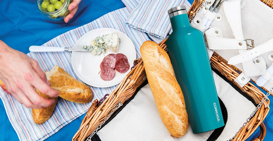 Corkcicle Canteen Biscay Blue