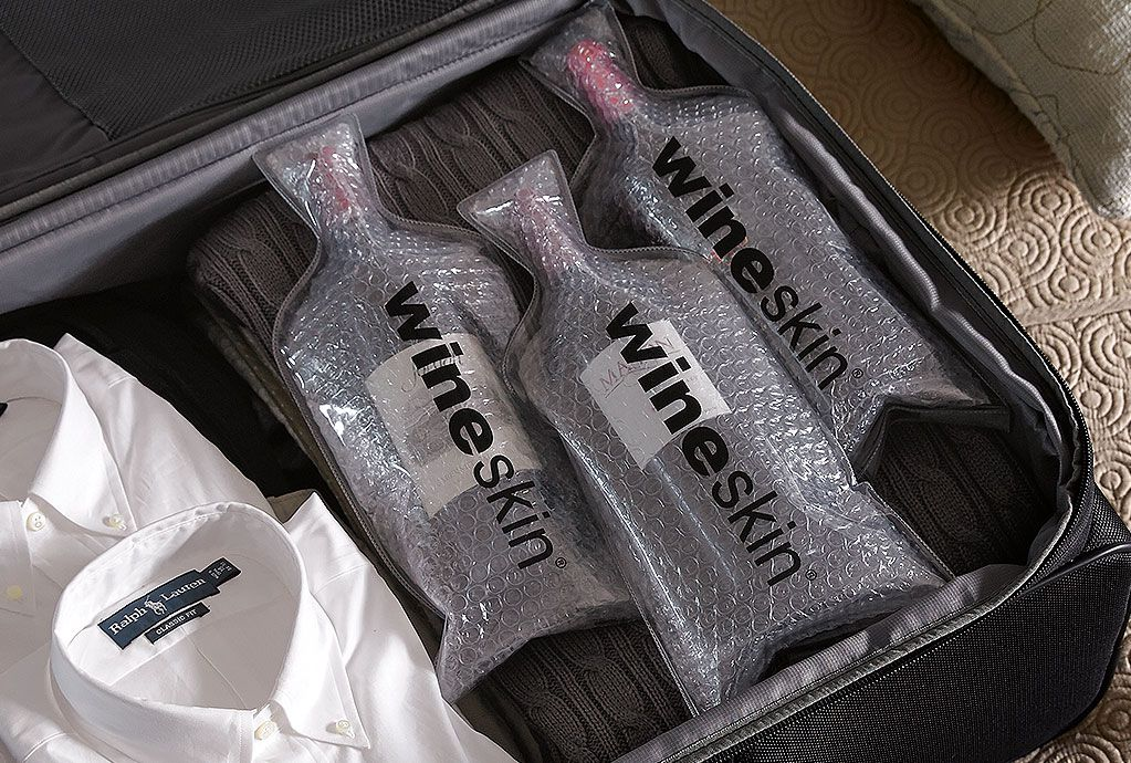 WineSkin Bottle Travel Bag