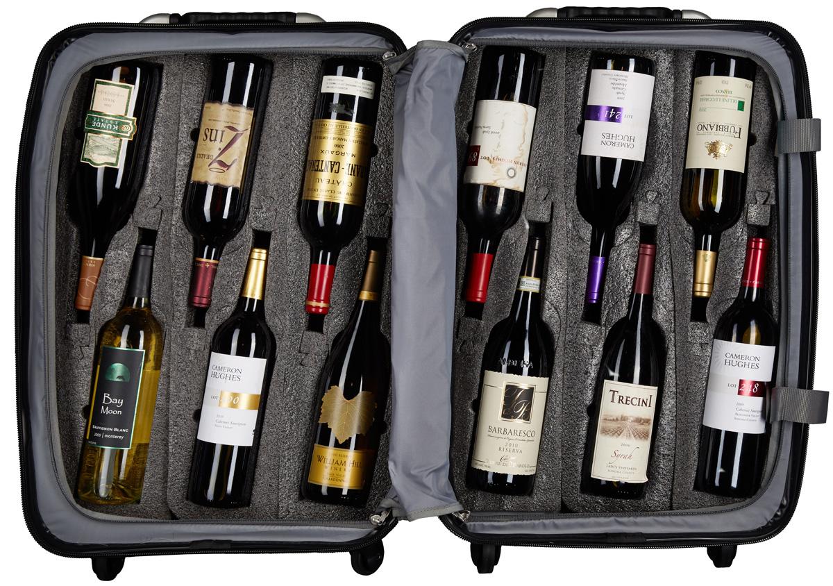 VinGardeValise Wine Suitcase