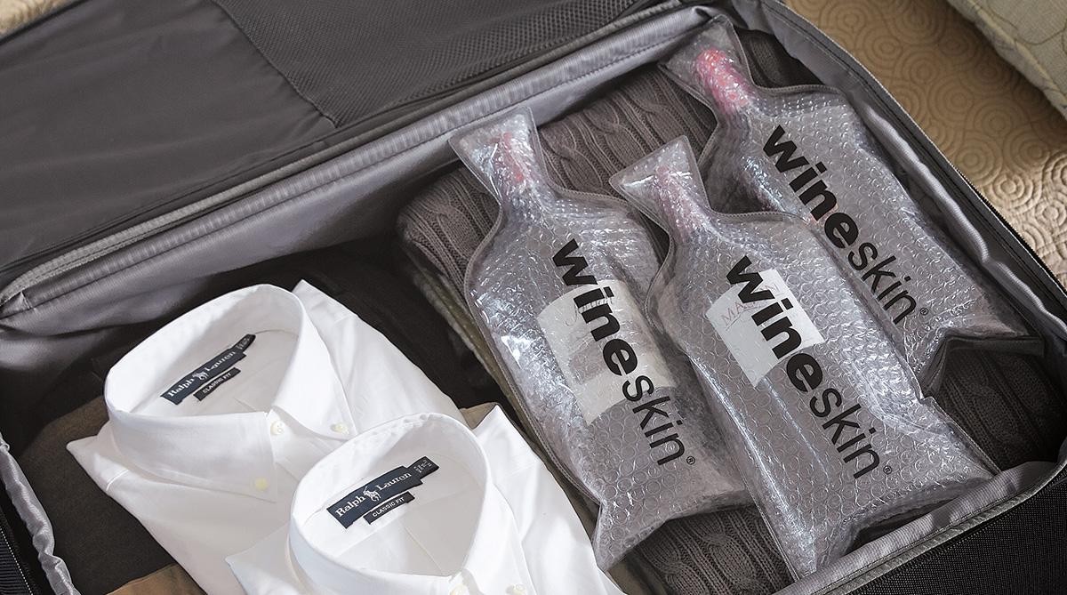 WineSkin Wine Travel Bags