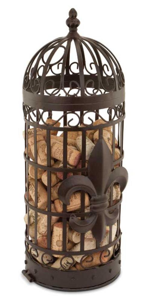 Fleur de Lis Cork Cage
