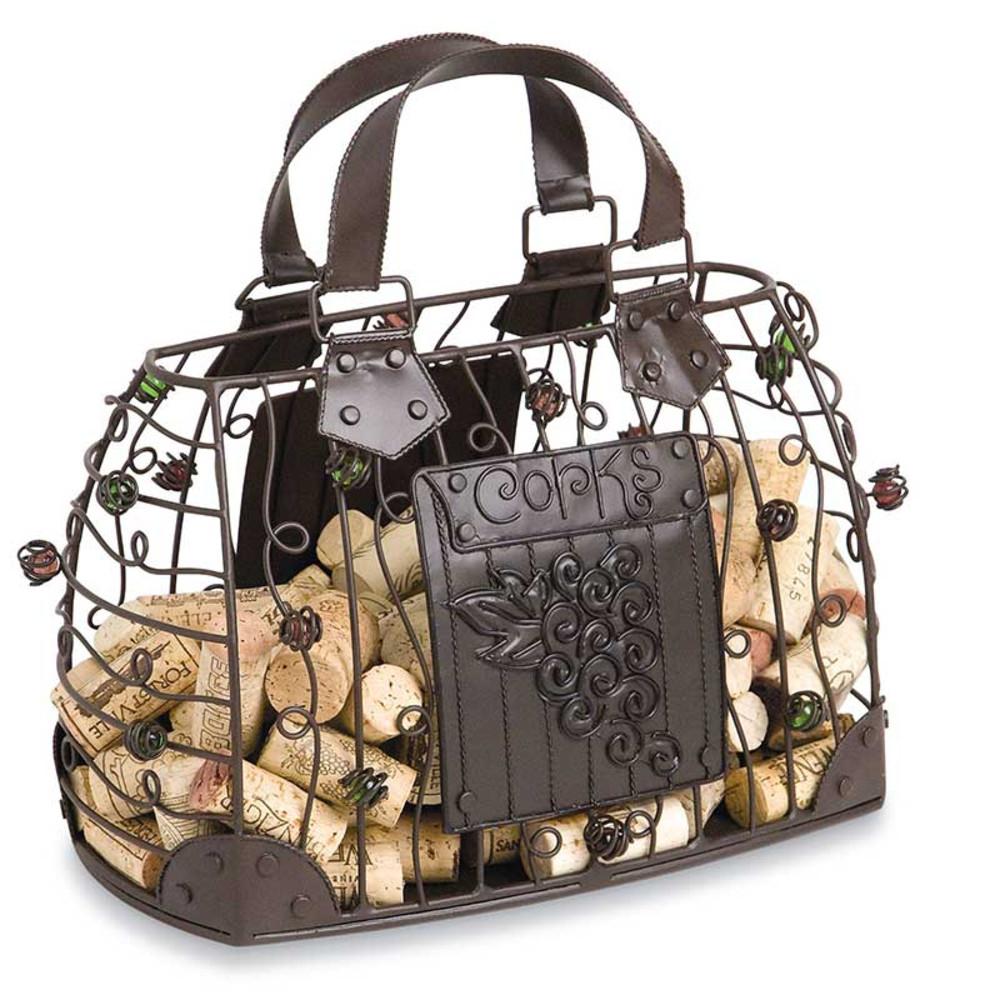 Ladies Handbag Cork Cage