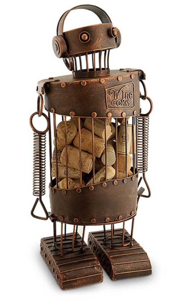 Robot Cork Cage