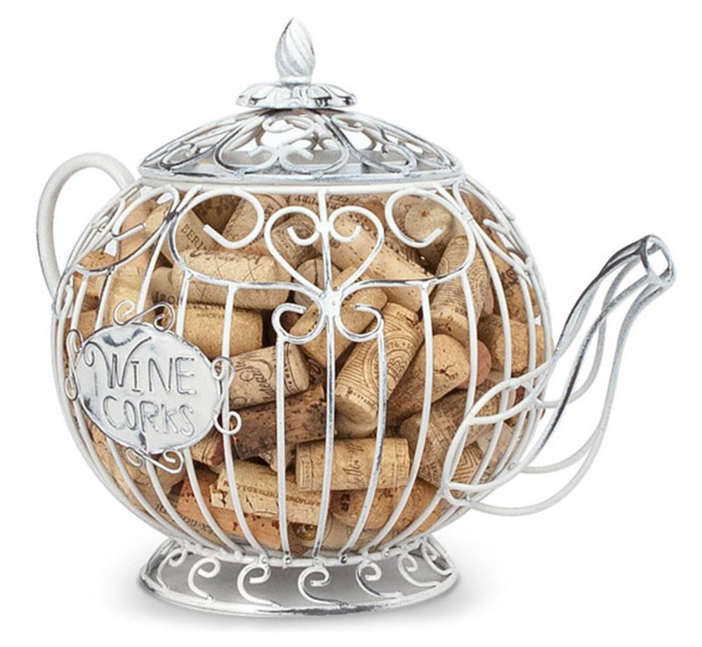 Teapot Cork Cage