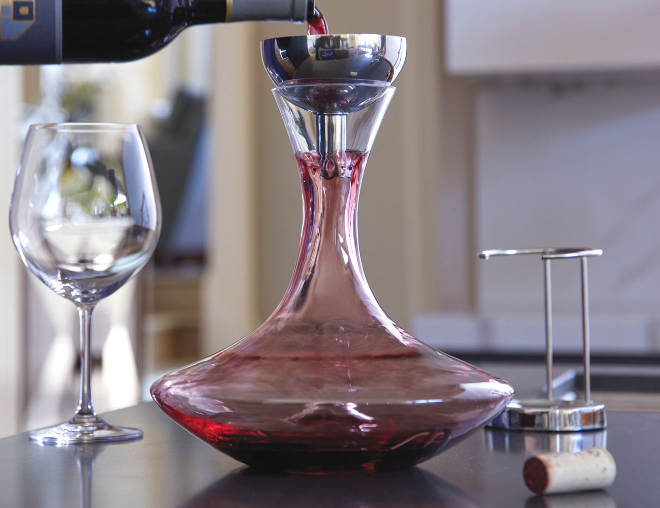 Ultima Classic Decanter and Funnel Set