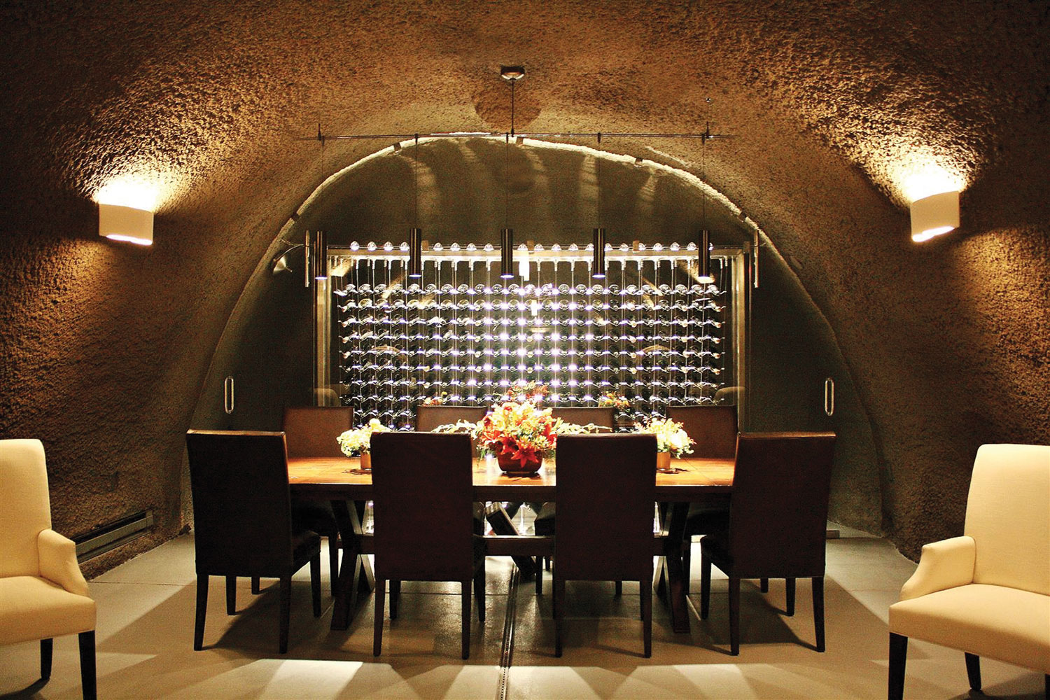 IWA Design Center - Custom Wine Cellar Cave