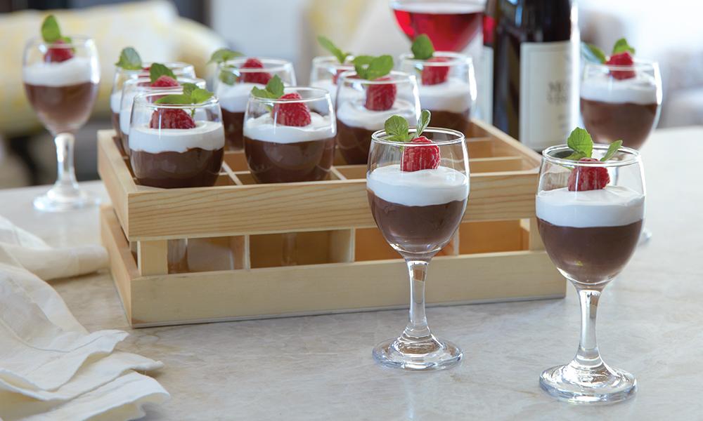Wood Wine Crates Mini Glasses