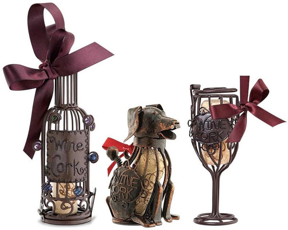 Cork Cage Ornaments