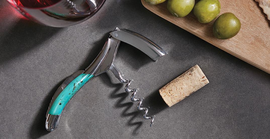 Laguiole En Aubrac Turquoise Waiters Corkscrew
