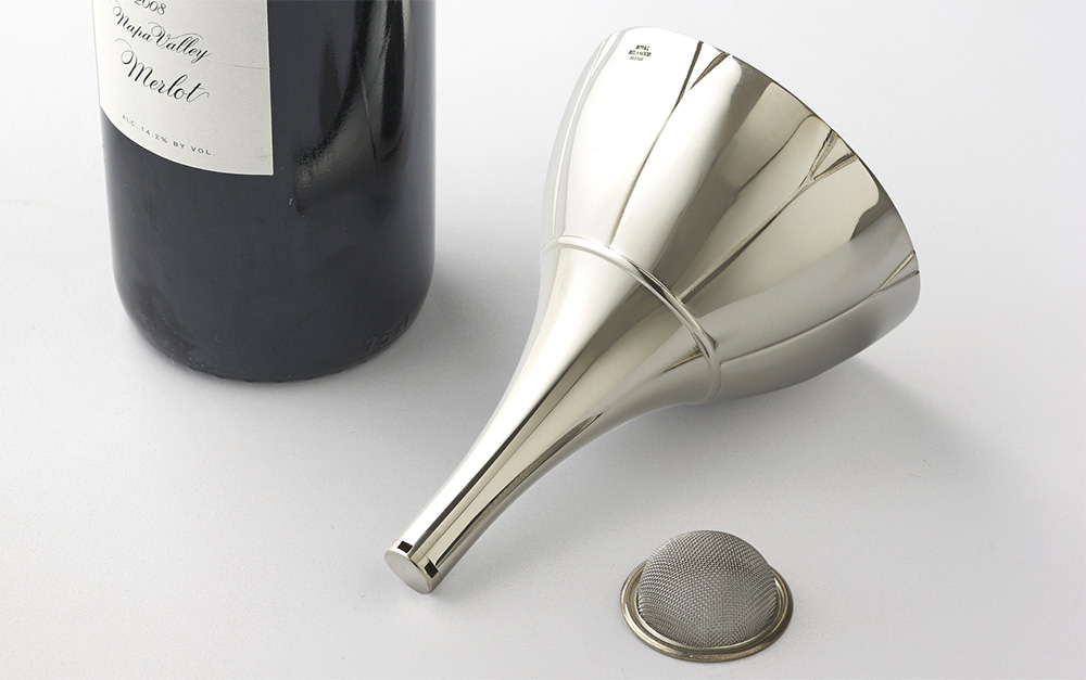 Ultimate Pewter Wine Funnel