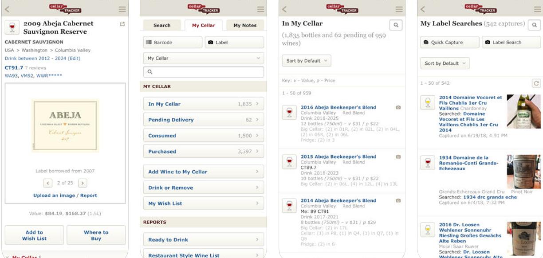 Cellar Tracker Wine Phone App